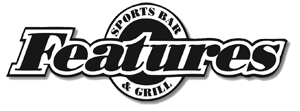 Features Sports Bar & Grill Mobile Logo